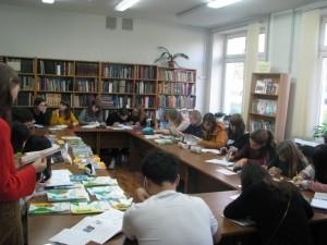 19 сентября в Карельском институте развития образования прошла групповая консультация по теме «Новые учебно-методические материалы по предмету «Окружающий мир» в начальной школе».