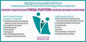 В России появится единый федеральный портал информационно-просветительской поддержки родителей