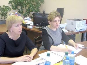 Визит председателя Центральной предметно-методической комиссии и жюри по немецкому языку Иннары Гусейновой