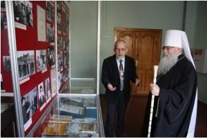 Митрополит Константин посетил Музей истории народного образования республики Карелия и Центр этнокультурного образования